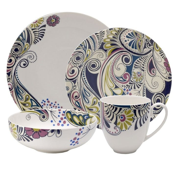 Cosmic 16 Piece Dinner Set