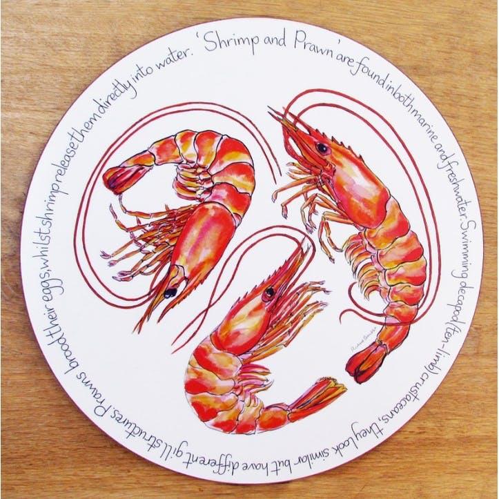 Shrimp & Prawn Tablemat - 28cm