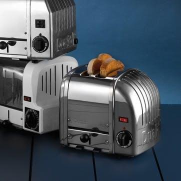 Classic Toaster, 2 Slot; Polished