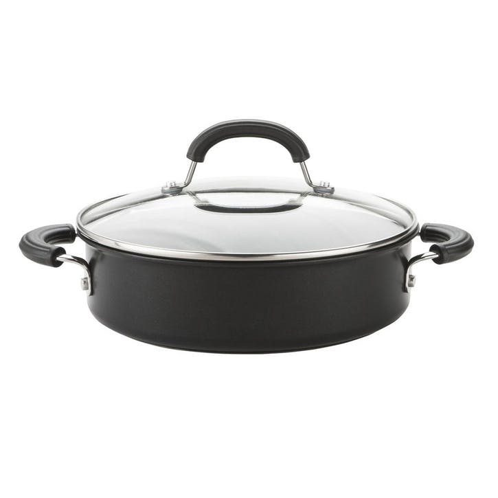 Total Hard Anodized Shallow Casserole Dish