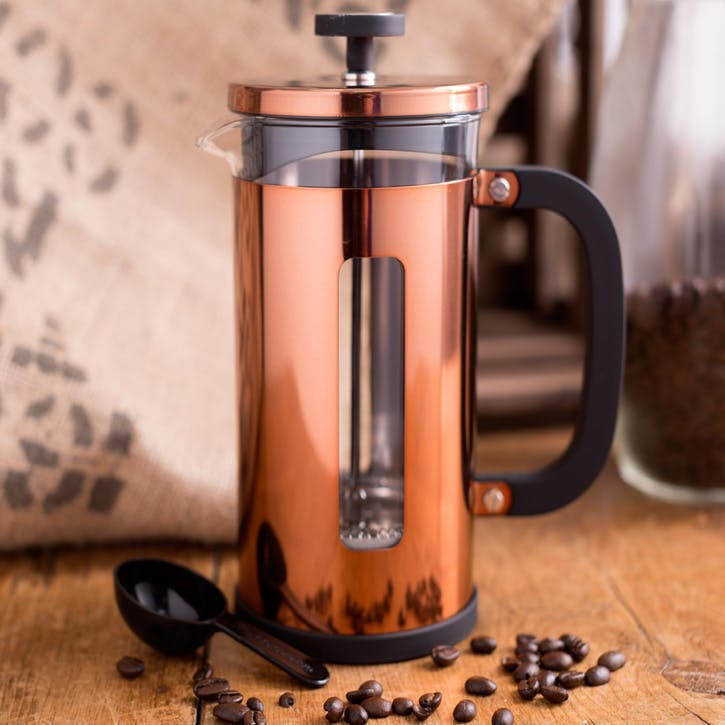 Origins Pisa Cafetiere, Copper, 8 Cup