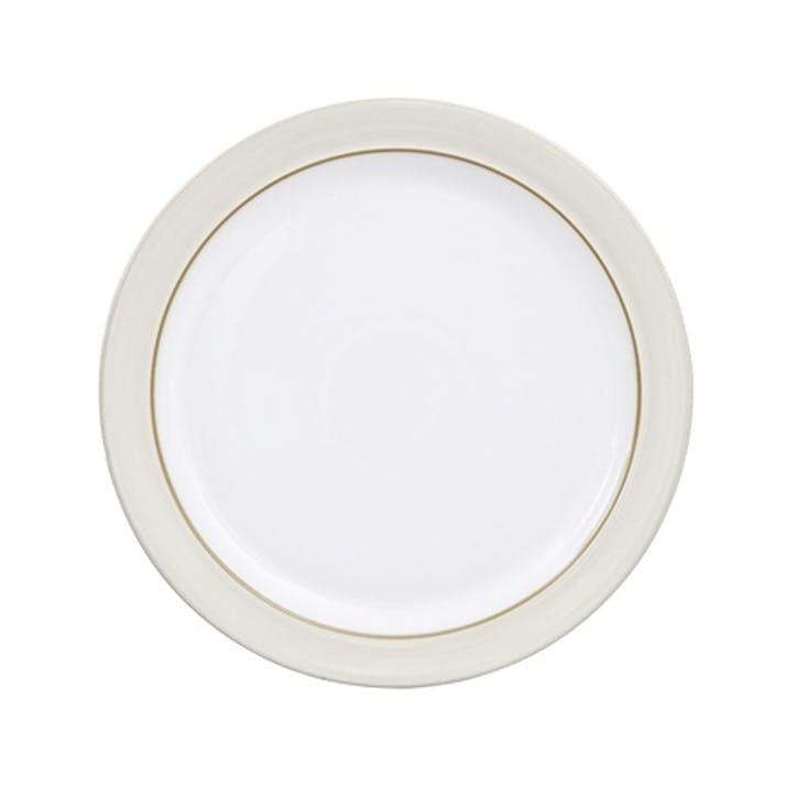 Natural Canvas Dinner Plate, 27cm, Cream