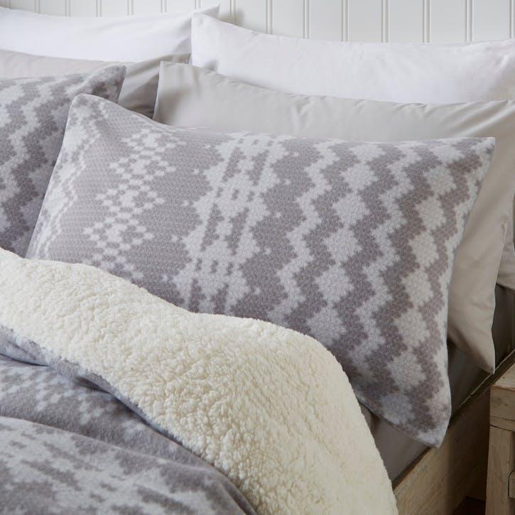 Alpine Fleece Super King Bedding Set