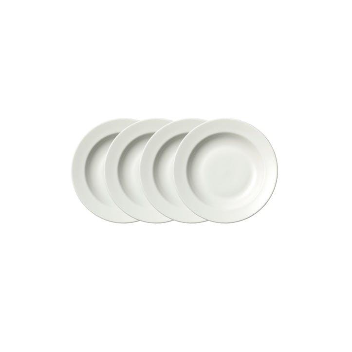 Perfect White Soup Bowls, Set of 4
