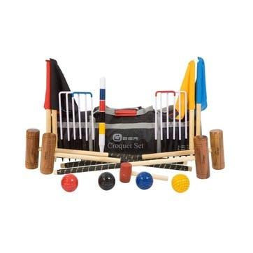 4 Player Garden Croquet Set