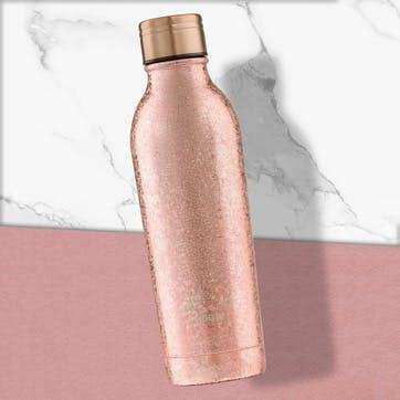 Rose Gold Sparkle Bottle