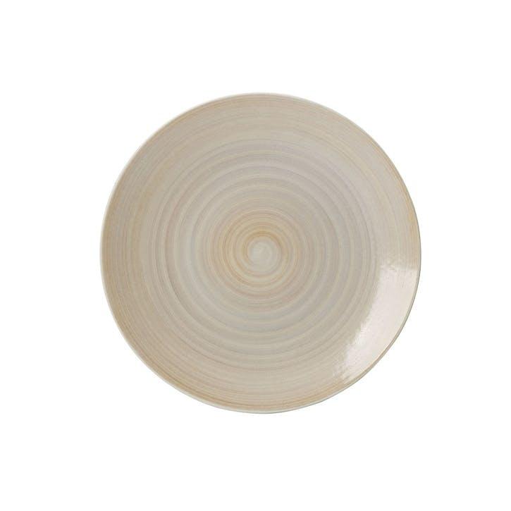 Studio Glaze Coupe Plate - 16.5cm; Classic Vanilla