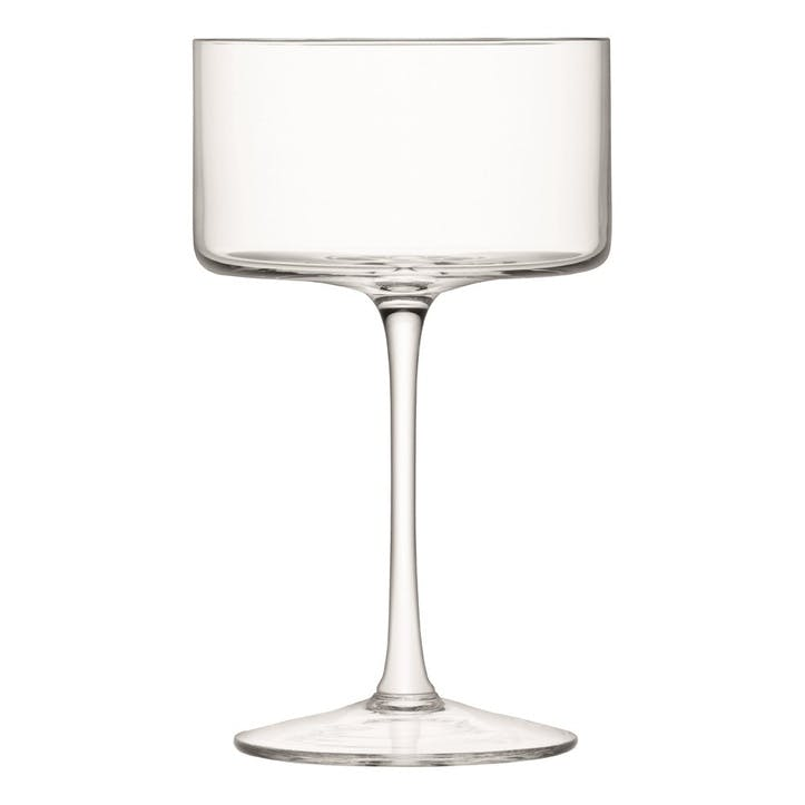LSA Lulu Cocktail Glass Assorted, Set of 4
