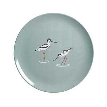 'Coastal Birds' Melamine Side Plate