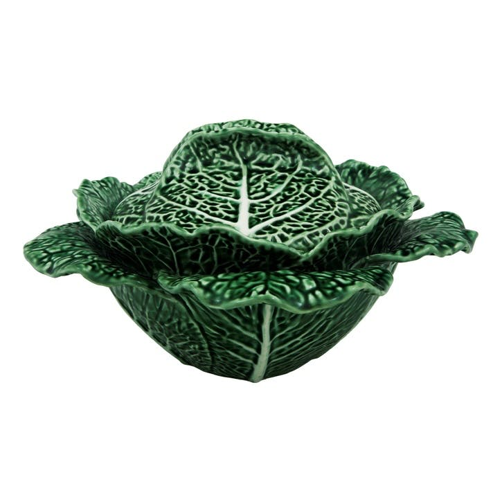 Cabbage Tureen, 2 Litre, Green