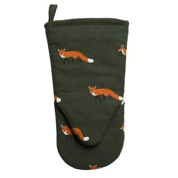 'Foxes' Oven Mitt