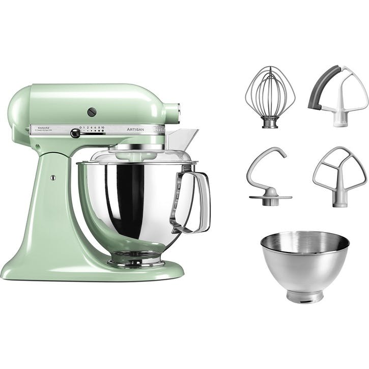 Artisan Stand Mixer with FREE Glass Mixing Bowl, 4.8L, Pistachio