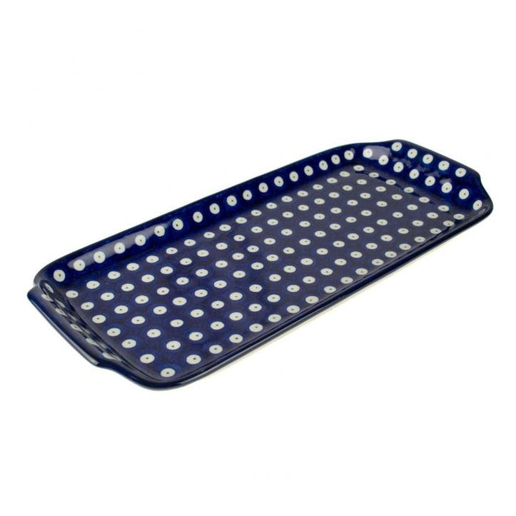 Blue Eyes Tray Platter, 32cm