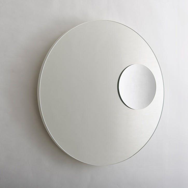 Neutrino Wall Mirror, Matt White