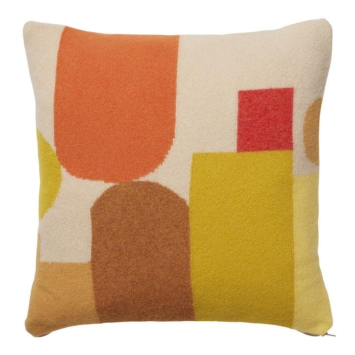 Hue Square Cushion, 42cm, Harvest