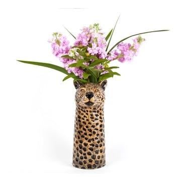 Leopard Flower Vase, H28cm