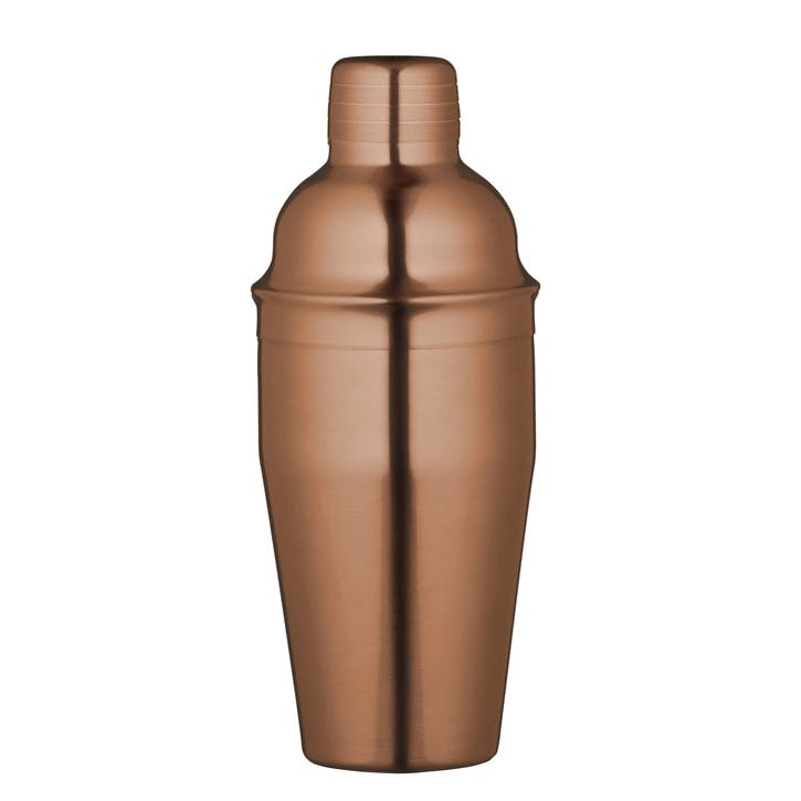 Copper Finish 500ml Cocktail Shaker
