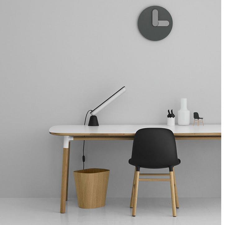 Bold Wall Clock D35cm Grey