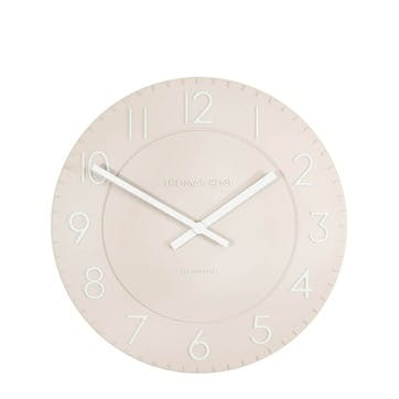 Townhouse Clock, 30cm, Orchid