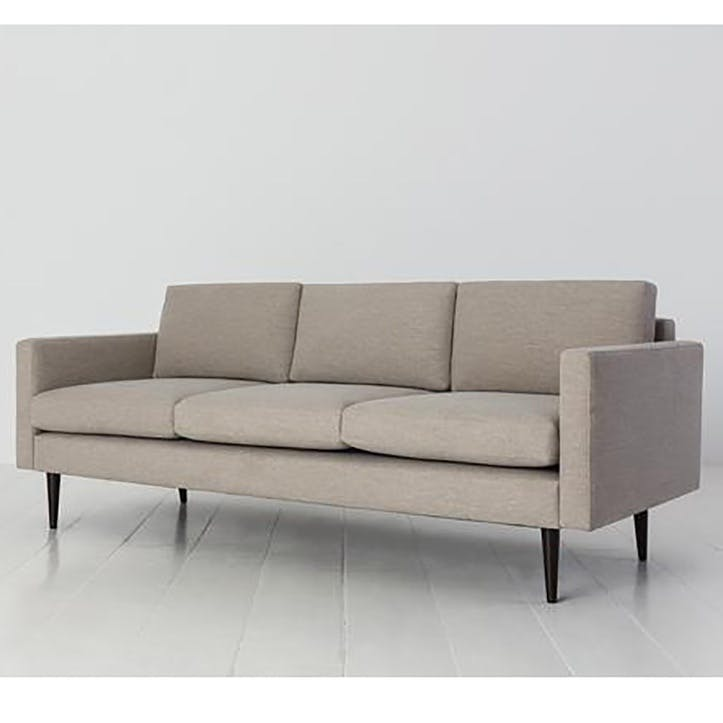 3 Seater Sofa, Model 01, Pumice