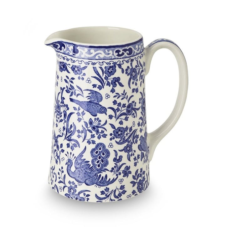Regal Peacock Tankard Jug, Medium, Blue