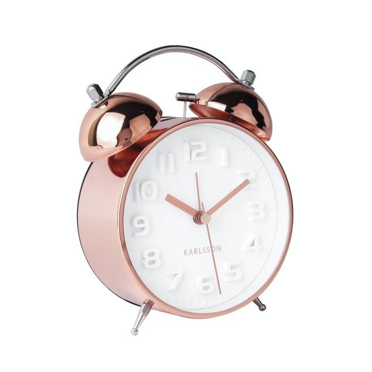 Mr White Alarm Clock, Copper