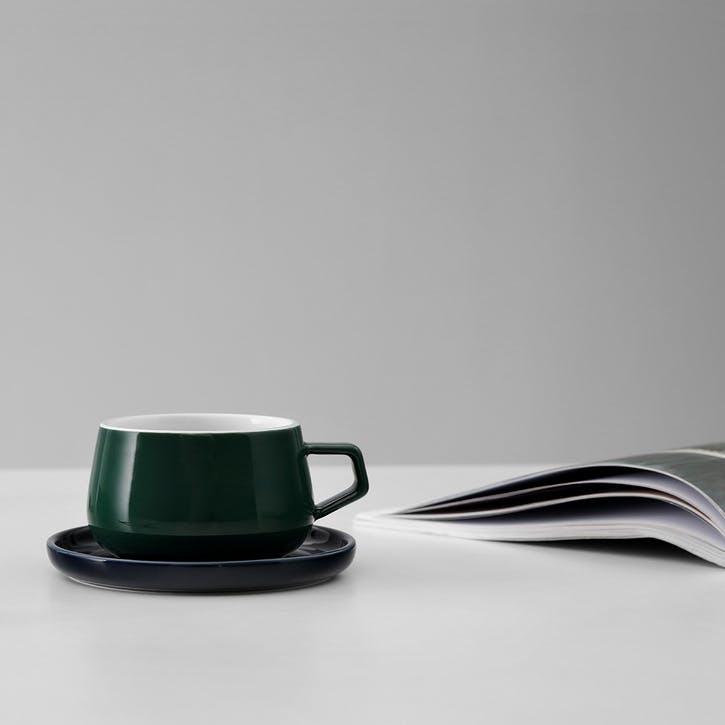 Ella Tea Mug, Pine Green