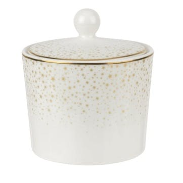 Celestial Collection Covered Sugar Pot