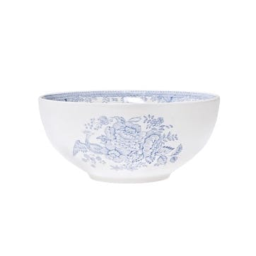 Asiatic Pheasants Footed Bowl, Small, Blue