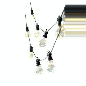 Festoon Lights, 20 Bulbs