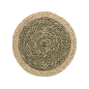 Woven Grass Place Mat, Set of 2, Natural