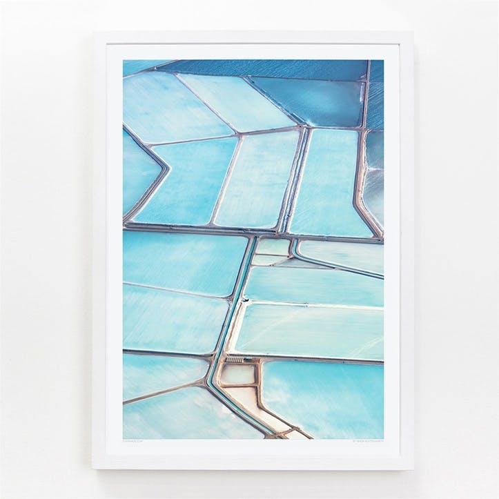 Blue Fields 6 Print, 42cm x 59.4cm