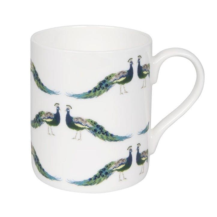 'Peacocks' Mug, Standard