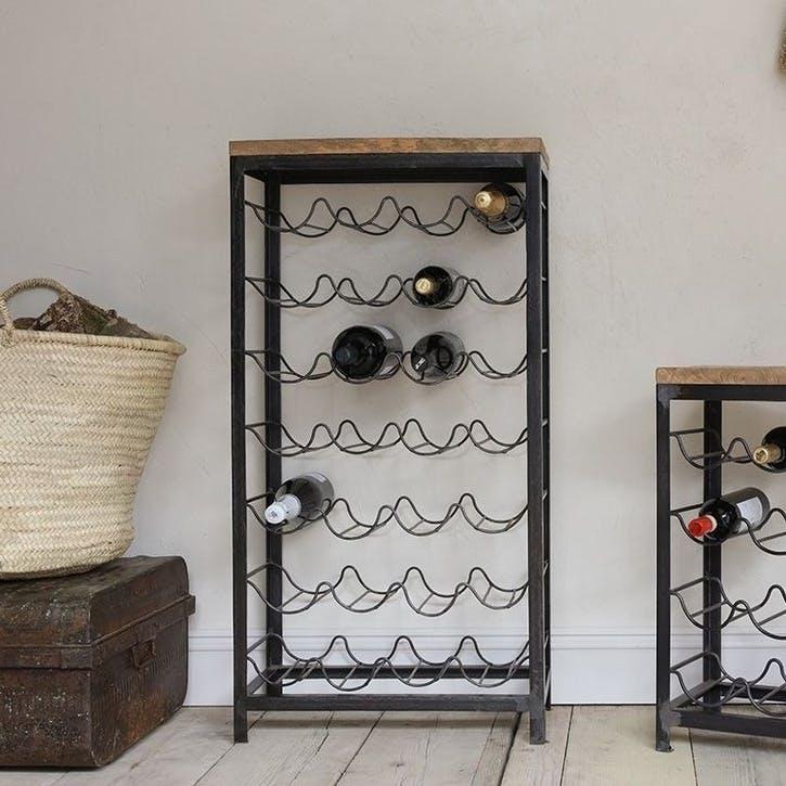 Obra Industrial Wine Rack - Large