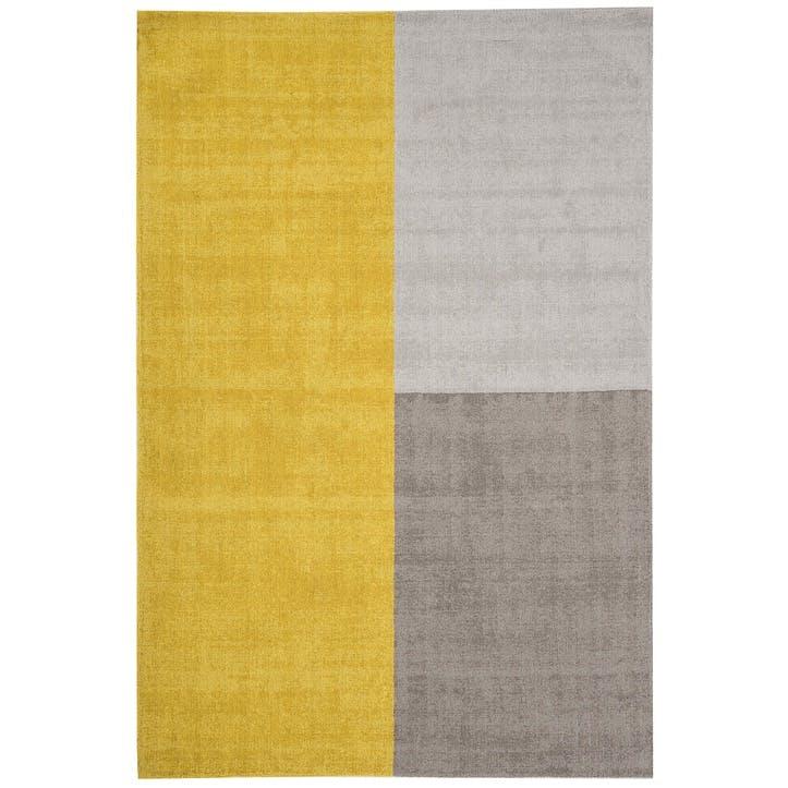 Blox Rug - 1.6 x 2.3m; Mustard