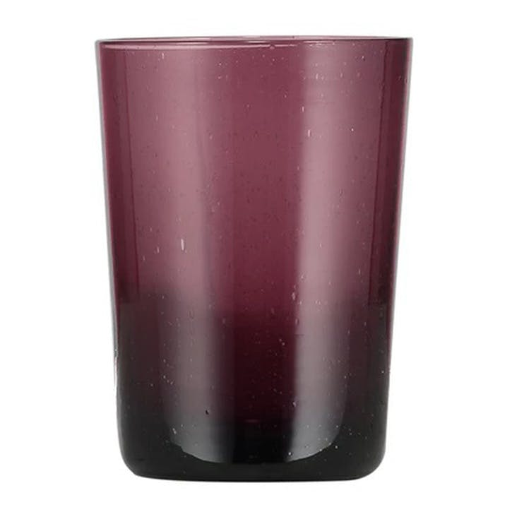 Garnet Glass Tumblers, Set of 6