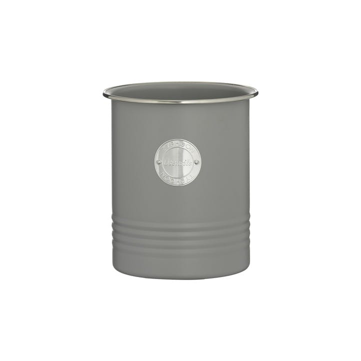 Living Utensil Pot, Grey