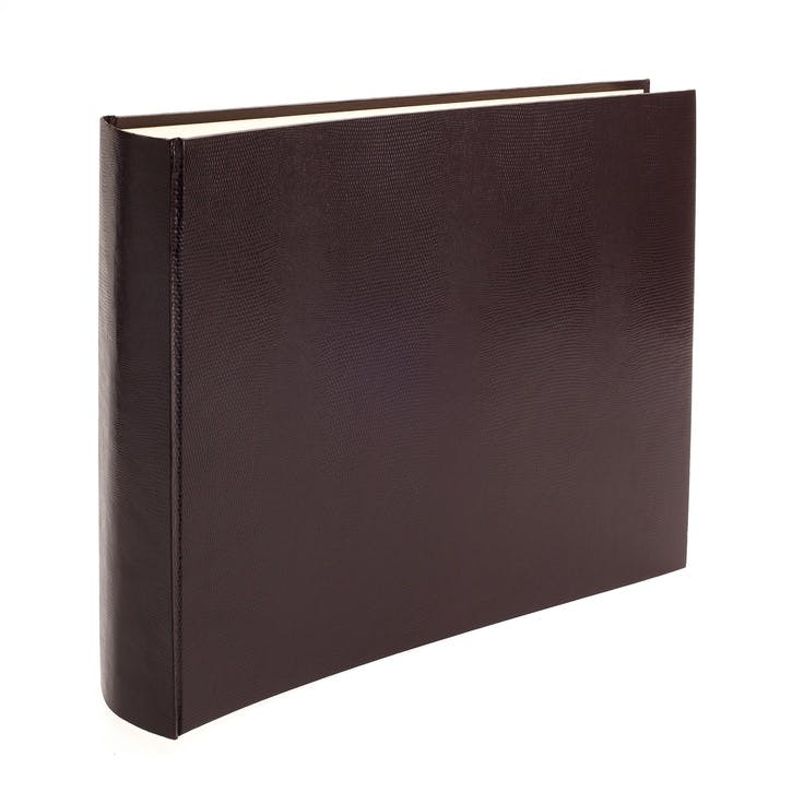 Jubilee Faux-Leather Landscape Photo Album, Plum