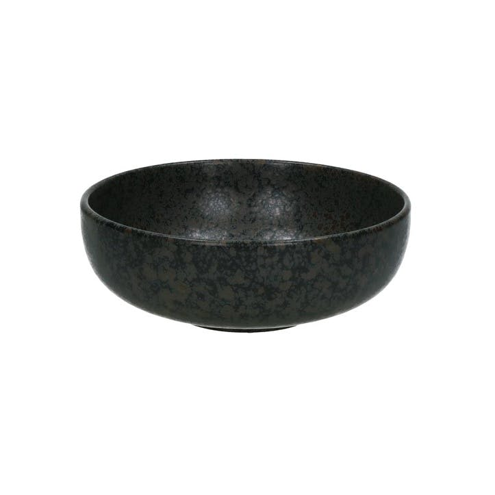 Somero Soup Bowl, Set of 4, Black