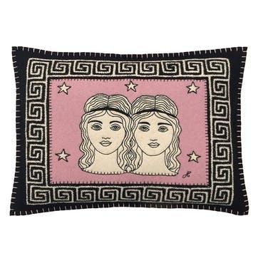 Gemini Cushion, 48 x 35cm, Multi