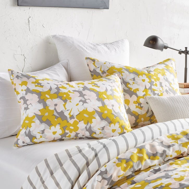 Cutout Floral Standard Pillowcase, Multi