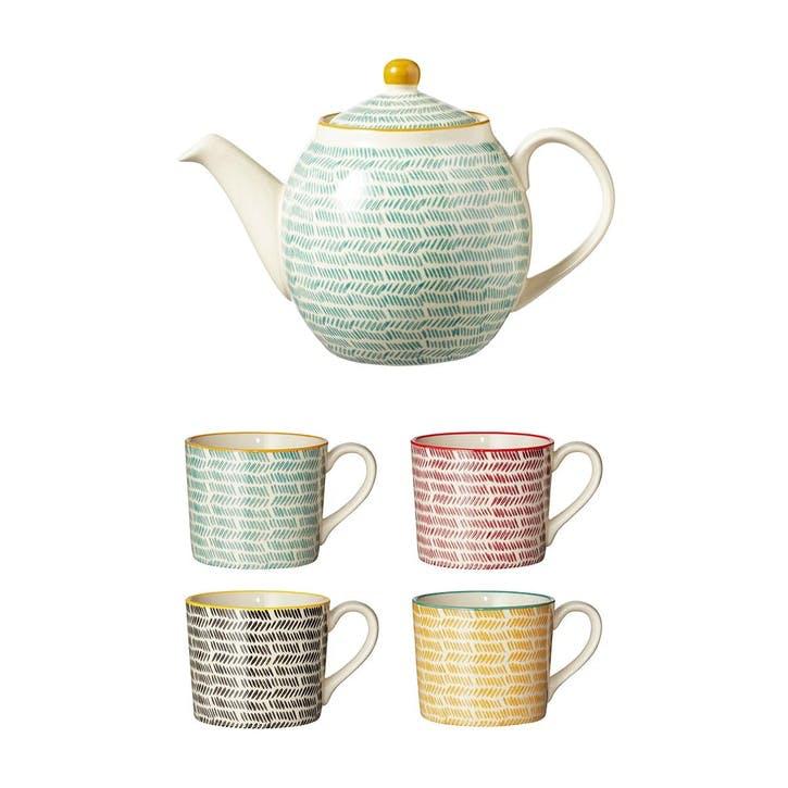 Herrinko Tea Set - Multi
