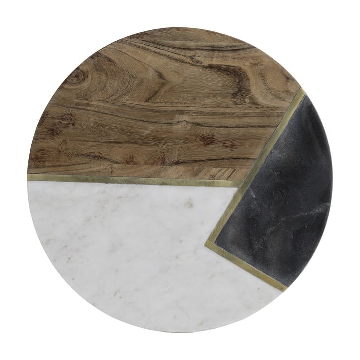 Elements Round Serving Board