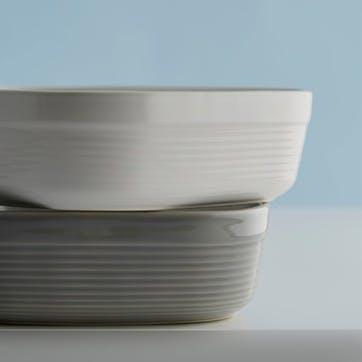 William Mason Rectangular Oven Dish, Grey