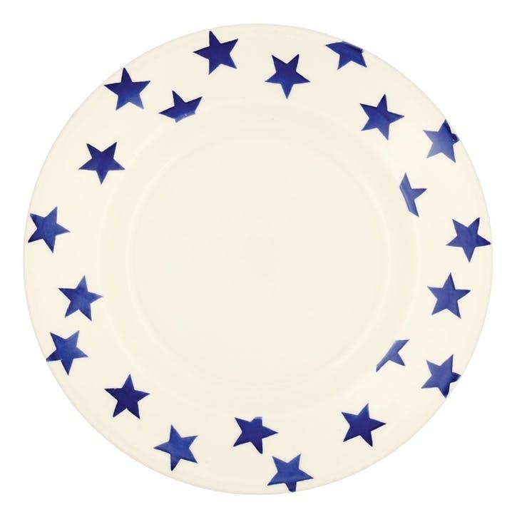 Blue Star Dinner Plate