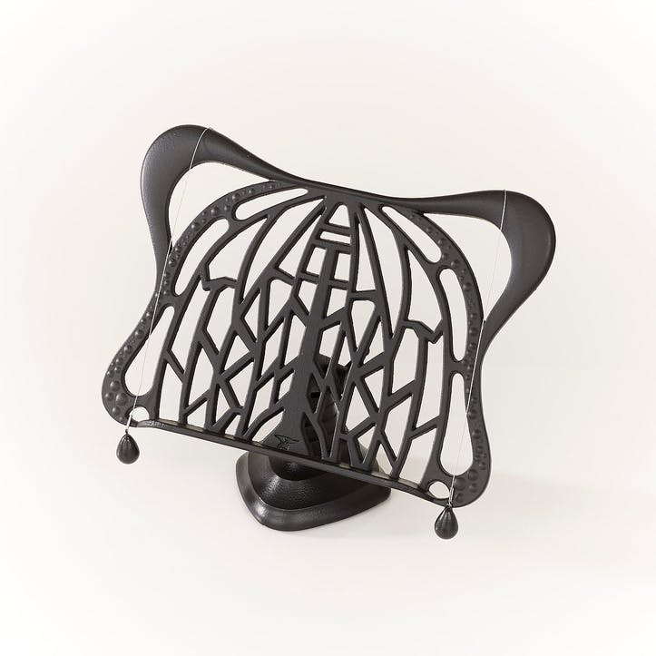 Bex Simon Cookbook Stand, Black
