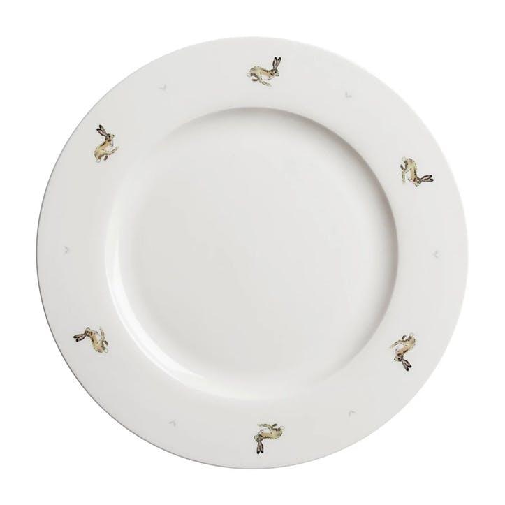 'Hare' Dinner Plate