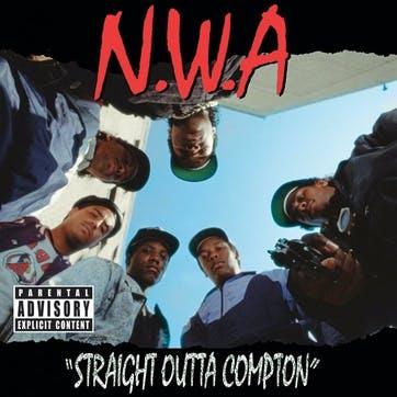 "N.W.A, Straight Outta Compton 12"" Vinyl"