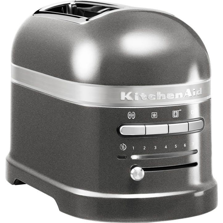 Artisan Toaster 2 Slot; Medallion Silver