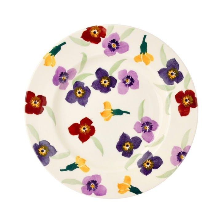 Wallflower Plate, 21.5cm